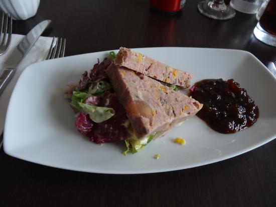 Anstruther, UK: ham hough and apricot terrine