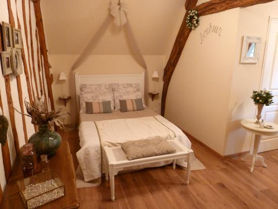 Eure, France : Chambre Romance