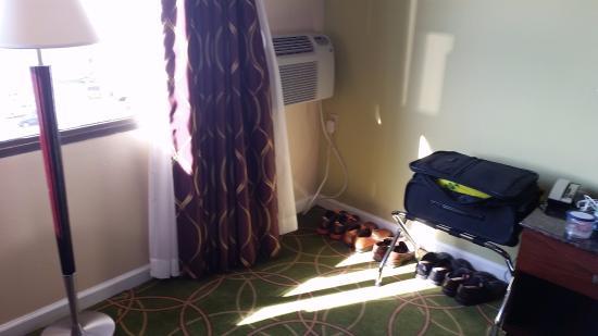 Days Inn Penn State : 6th floor North room.
