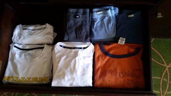 State College, PA: My clothes. It was in the hotel, I promise.