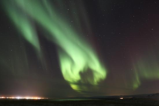Laugarvatn, Islandia: After the Warm Baths came the cool lights