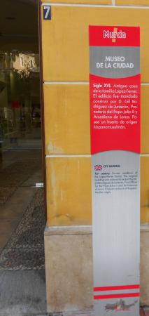 Museo de la Ciudad de Murcia