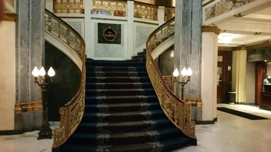 Seelbach Hilton: Grand staircase