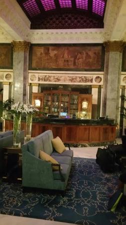 Seelbach Hilton: Lobby area