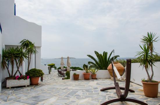 Poseidon Hotel - Suites: Vista del Mar Egeo.