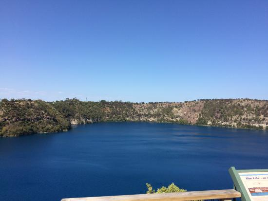 Mount Gambier, Austrália: It's pretty relaxing to just sit there...