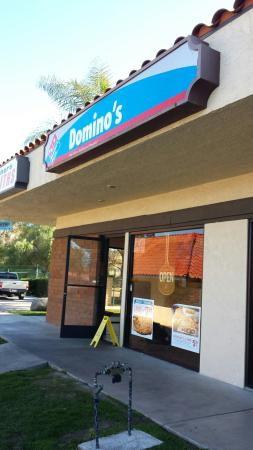 Canyon Lake, Califórnia: Domino's Pizza