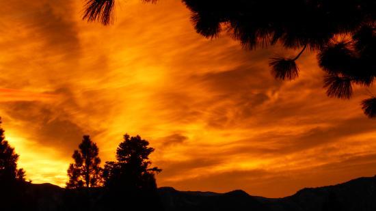 Stateline, نيفادا: sunset