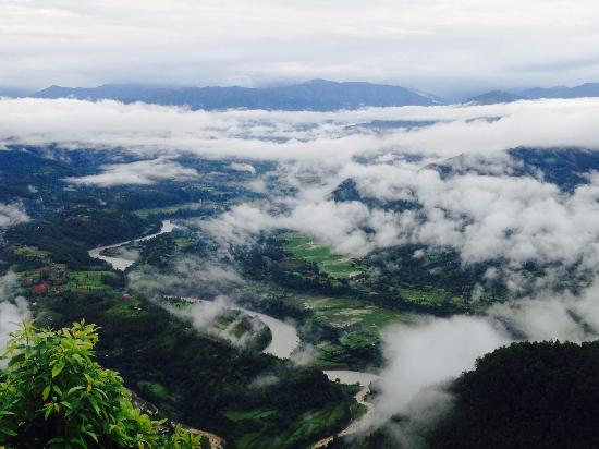 Bandipur, Nepal: Amazing view...
