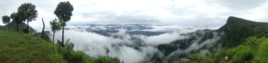 Bandipur, Nepal: Panoramic view...