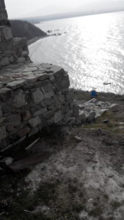 Chernomorets, Bulgarie : Стены крепости Акра