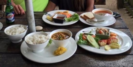 Anse Royale, Seychellen: dishes