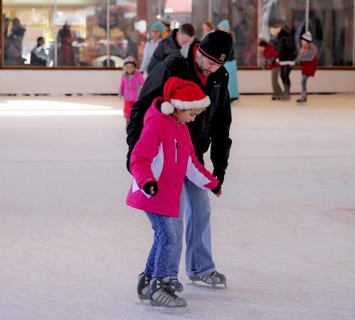 Ice Skating Village at Sunriver
