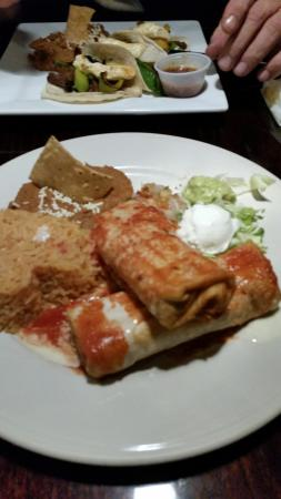 Chesterton, IN: Chicken Chimichanga's