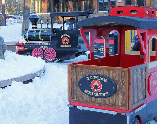 Alpine Express Train Village at Sunriver