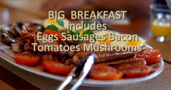 Hepburn Springs, ออสเตรเลีย: Enjoy a big breakfast