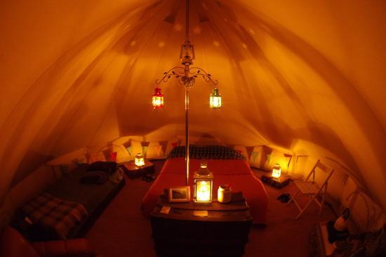 Skye Eco Bells Gl&ing Inside the tent & Inside the tent - Picture of Skye Eco Bells Glamping Orbost ...