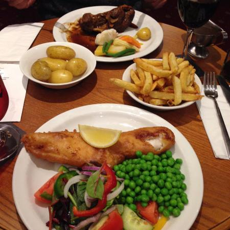 Workington, UK: fish, lamb and more