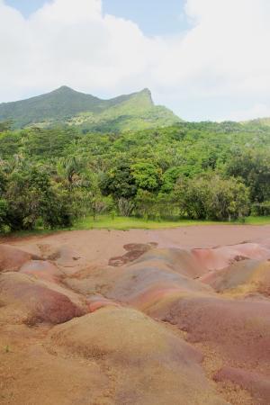 Chamarel: terre des sept couleurs