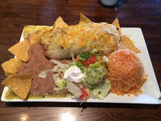 Cottonwood, Arizona: Pork Burrito