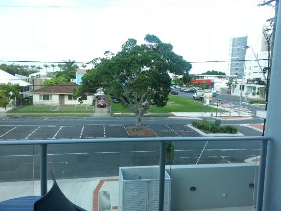 Mackay, Австралия: View from my balcony showing shopping mall