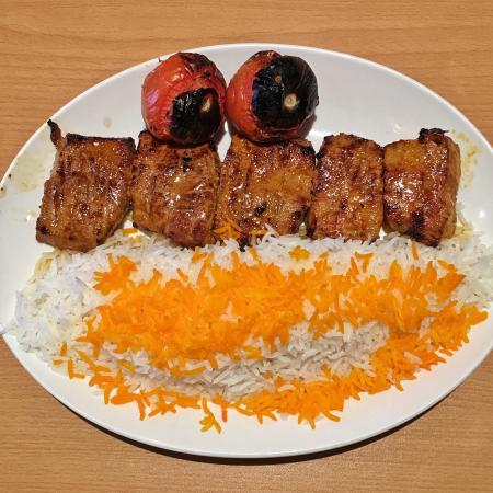 Mohsen: Chenjeh with rice ... delicious!