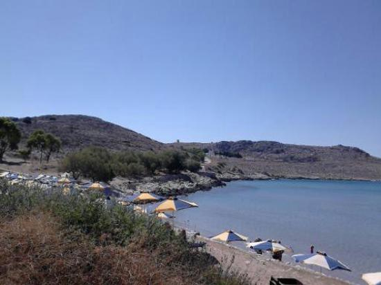 Halki, Grecia: This is the beach