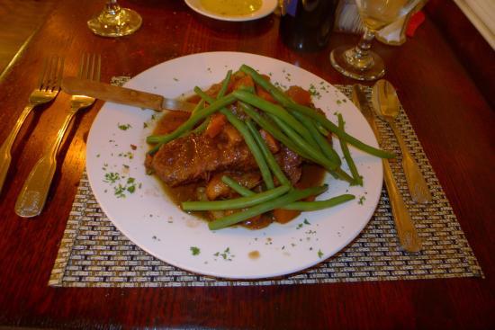 Ewing, Nueva Jersey: Beef braised short rib