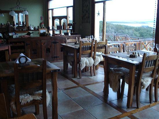 Tierra de Leyendas: Restaurante do hotel
