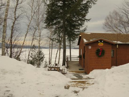 Cozy Moose on Moosehead Lake: Enjoying the views @cozymoosecabins