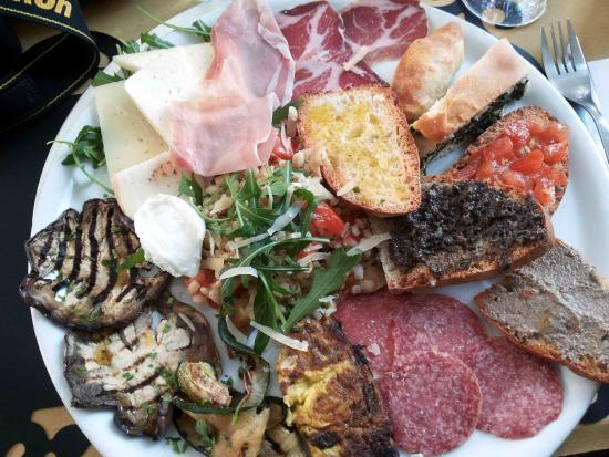 Narni, Italia: antipasto