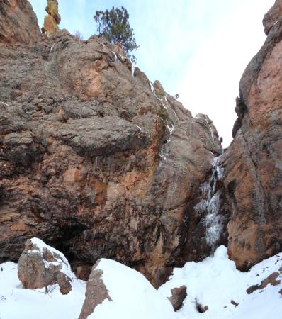 Fort Collins, CO: The falls in winter