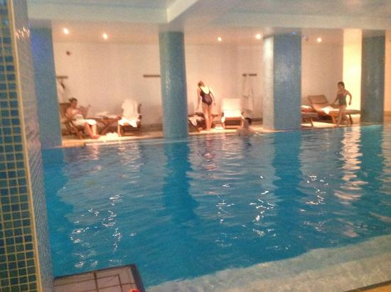Pool Spa Picture Of The Balmoral Hotel Edinburgh Tripadvisor