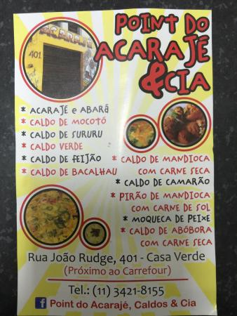 Point Do Acaraje & Cia