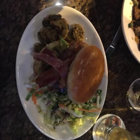 Frederick, MD: We went out with friends and had the Jumbalaya and the BBQ Bison Burger. It was a very good dini