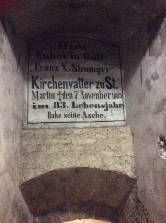 St. Martin's Cathedral (Dom svateho Martina): This says November 1865