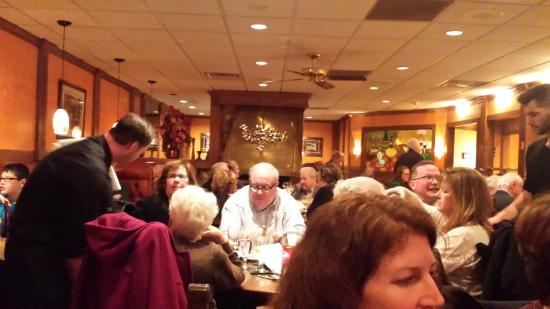Rochester Hills, Мичиган: Lino's dining room