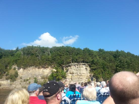 table rock picture of dells boat tours wisconsin dells tripadvisor rh tripadvisor com