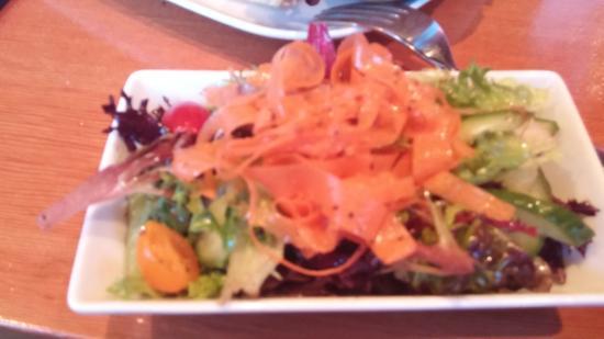 Gabriola Island, Canadá: Just the side salad.