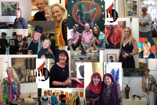 Wisemans Ferry, Australia: Gallery faces