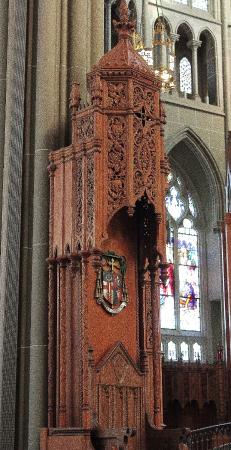 Covington, KY: Every detail in the carvings of the wood are unmatched