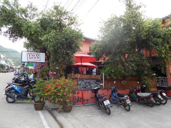 Taco Shack Hostel and Restaurant: taco shack