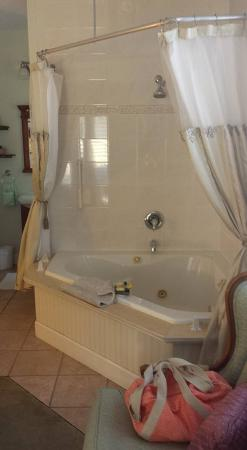 Victorian House: Tub big enough for 2. :-)