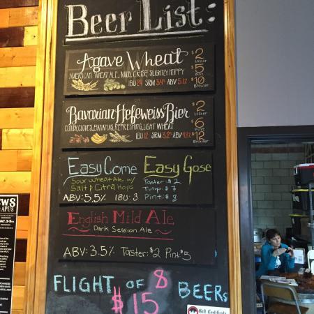 Monrovia, Califórnia: Pacfic Plate Brewery