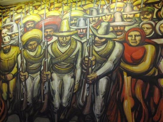 Pics for castillo de chapultepec mural for El mural de siqueiros