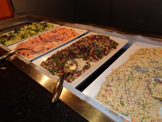 salad bar picture of bistro buffet las vegas tripadvisor rh tripadvisor com