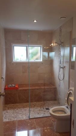 Opua, Nya Zeeland: Awesome shower!