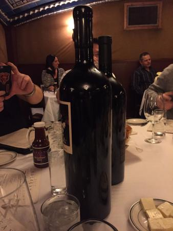Wolfgang's Steakhouse: The Prisoner magnum and his friend the Executioner :)