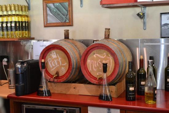 Mount View, Australia: Desert wines