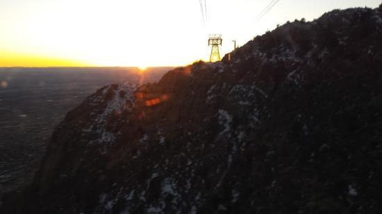 Sandia Peak Tramway: four